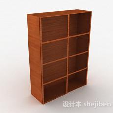 黄色木质玻璃门衣柜3d模型下载
