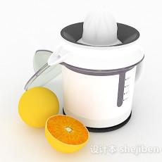 水果榨汁机3d模型下载