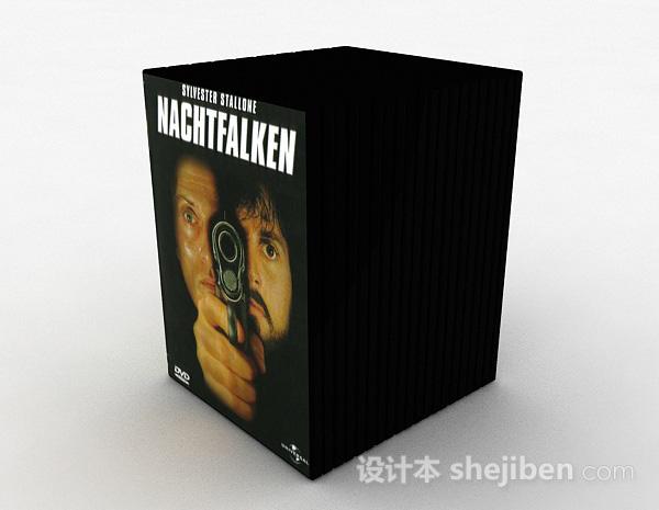 黑色DVD光盘套装