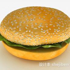 汉堡3d模型下载