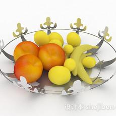 水果拼盘3d模型下载