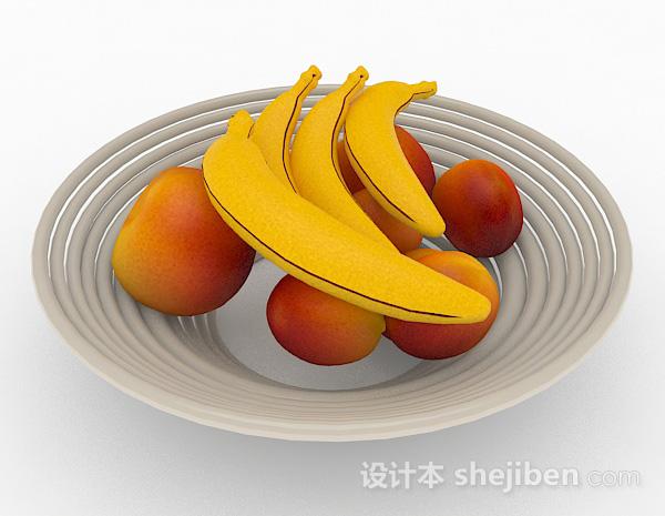 苹果香蕉葡萄那个数学题_香蕉苹果3d模型下载-设计本3D模型下载