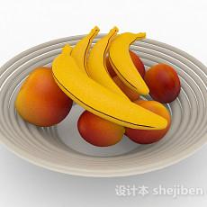 香蕉苹果3d模型下载