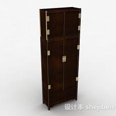 中式风格家居衣柜3d模型下载