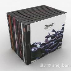 各色包装DVD光碟3d模型下载