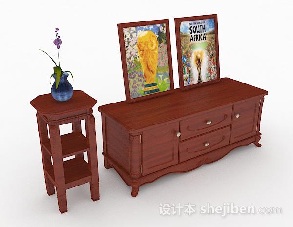 木质家居厅柜