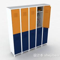 金属储物柜3d模型下载