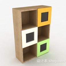 家居时尚柜子3d模型下载