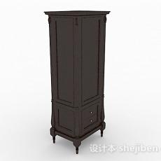 欧式古典家居衣柜3d模型下载