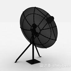 天台卫星接收器3d模型下载