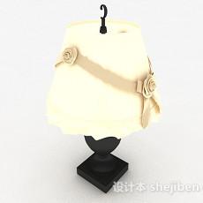 欧式台灯状吊灯3d模型下载