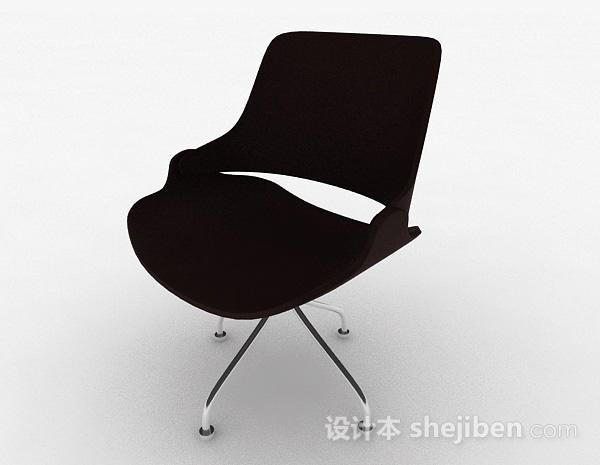 现代时尚棕色家居椅