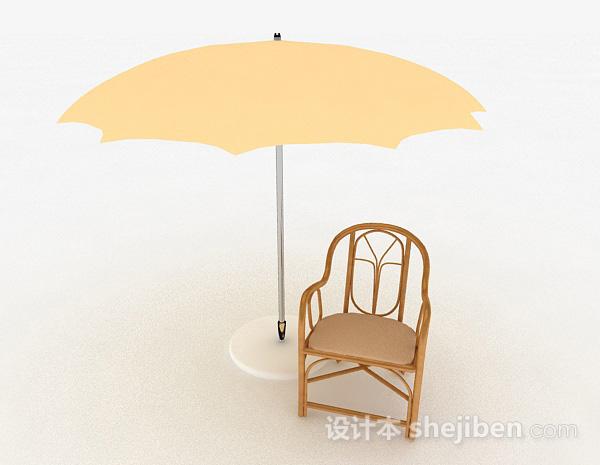 木质简约休闲椅