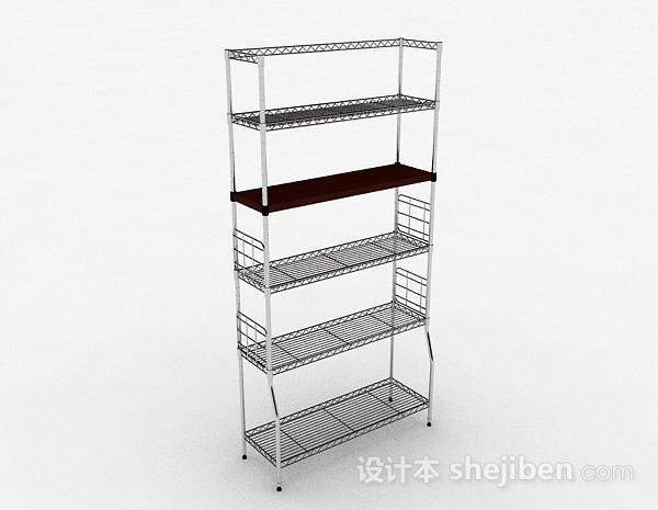 多层不锈钢镂空置物架