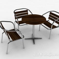 室外时尚家居椅3d模型下载