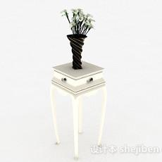 室内鲜花摆设3d模型下载