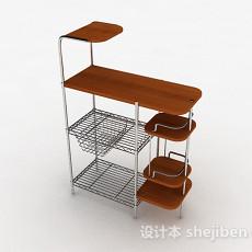 厨房置物架3d模型下载