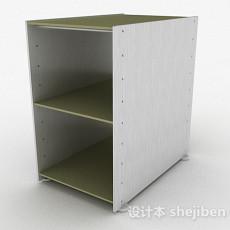 棕色鞋柜3d模型下载