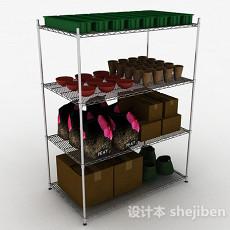 茶具展示台3d模型下载
