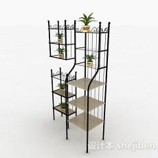 多层金属花架3d模型下载