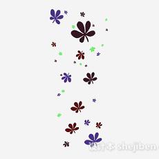 花卉墙纸3d模型下载
