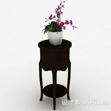 中式室内盆栽3d模型下载