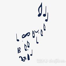 音乐符号图案壁纸3d模型下载