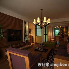 家居客厅3d模型下载