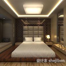 榻榻米卧室3d模型下载