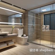 卫生间淋浴房3d模型下载