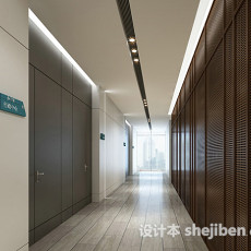 走廊过道3d模型下载
