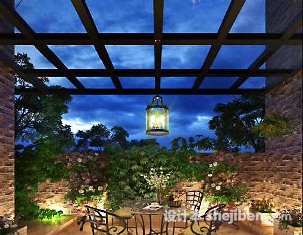 阳台花园3d模型