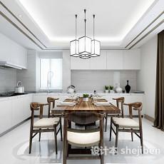 厨房餐厅整体3d模型下载