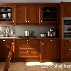 欧式厨房操作台3d模型下载