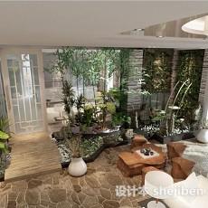 阳台花园3d模型下载