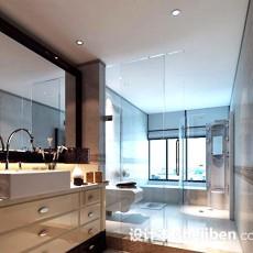 卫生间玻璃门3d模型下载