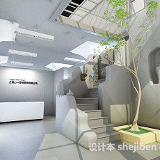 别墅室内设计3d模型下载