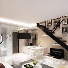 客厅楼梯3d模型下载