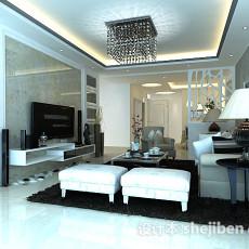 客厅沙发3d模型下载