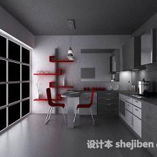 厨房免费3d模型下载