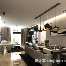 餐厅灯具3d模型下载