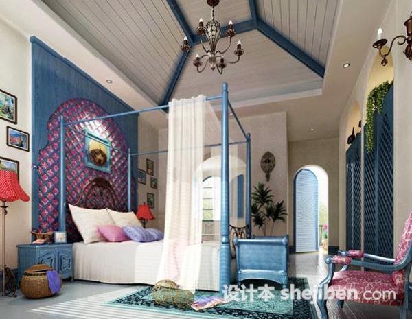 室内地中海风格卧室