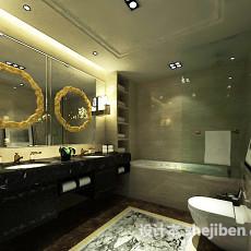 卫生间浴缸3d模型下载