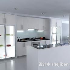 现代厨房免费33d模型下载
