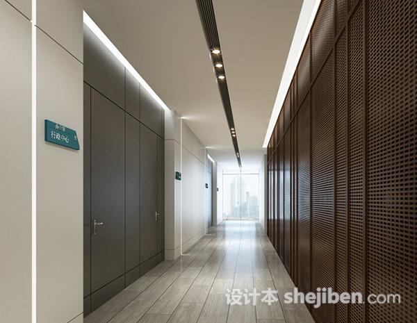 走廊过道模型