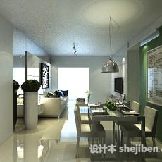 餐厅桌子3d模型下载