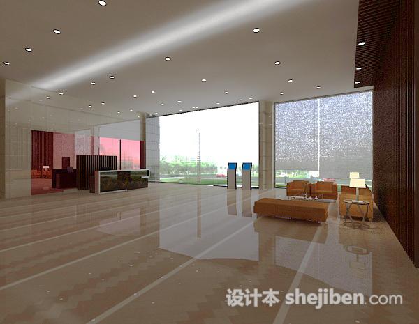 休息区3D模型下载