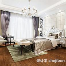卧室0493d模型下载