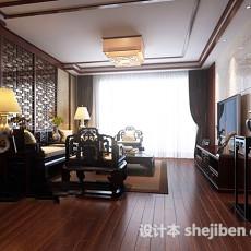 客厅吸顶灯3d模型下载