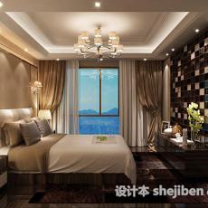 现代卧室吊灯3d模型下载